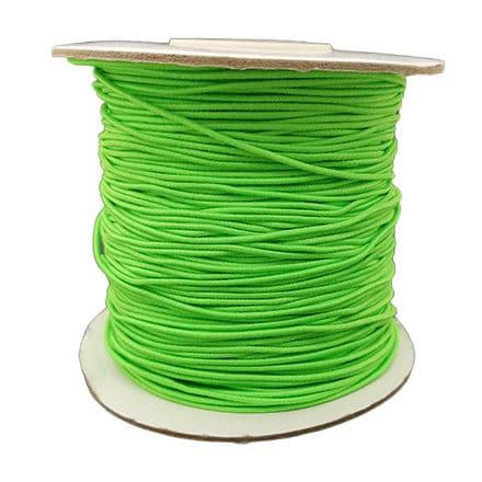 Vel groen elastisch sieraden draad vel groen 0.8mm