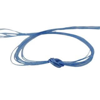 Nylon draad 0.3mm dun licht blauw