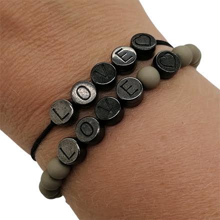 Trendy armbanden zelf maken antraciet zelf maken