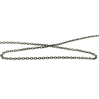 Ketting jasseron brons sieraden maken 4mm