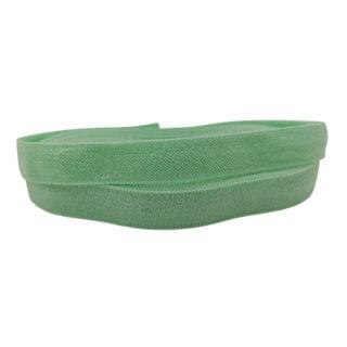 Mint groen elastiek lint 1cm breed