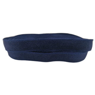 Navy blauw elastiek koord 10mm