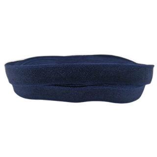 Navy blauw elastiek koord 10mm
