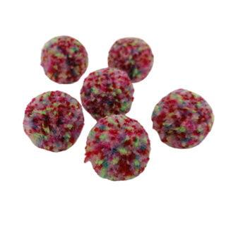 Pompons multi color