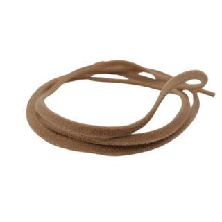 Elastische lint 4mm beige brown