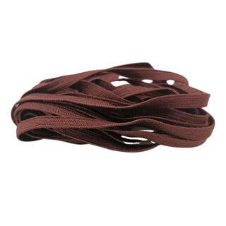 Cappuccino bruin elastiek koord 4mm