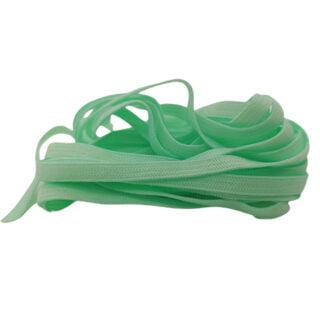 Plat elastisch lint 4mm mint groen