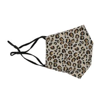 Mondkpajes luipaarden print beige bruin trendy print