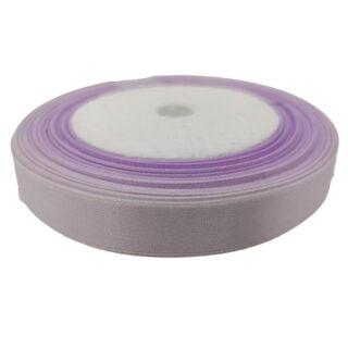 Satijnen lint 12mm lila