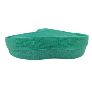 Elastische lint turquoise lint 10mm breed