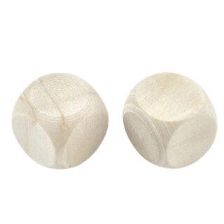 Vierkante blokjes 14mm 16mm 18mm blank dobbelsteen poppetjes
