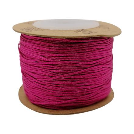 Nylon draad 0.8mm roze fuchsia