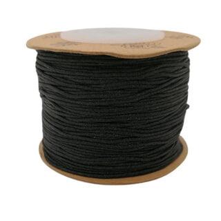 Nylon draad 0.8mm zwart sieraden maken
