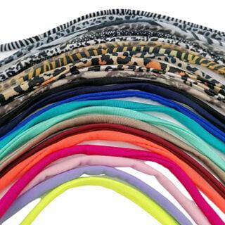 Elastiek lint armbandjes maken Ibiza mix color suprise pakket
