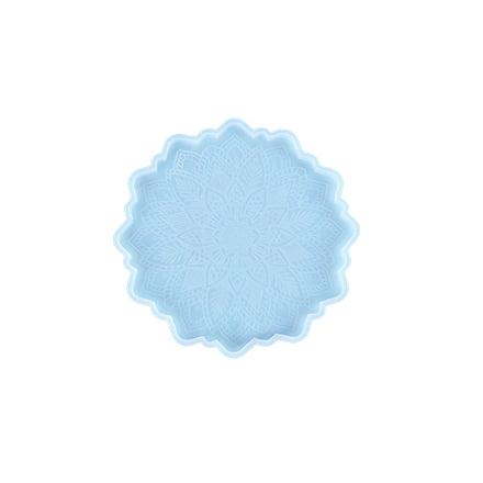 Siliconen malletje bloem lace patrooon