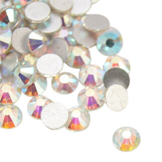 SS34 Crystal AB strass steen